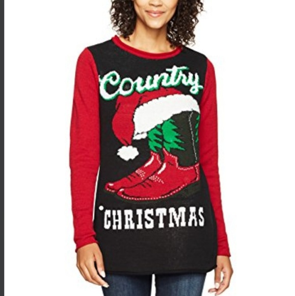 ugly christmas sweater co sweaters new country christmas sweater lights up too